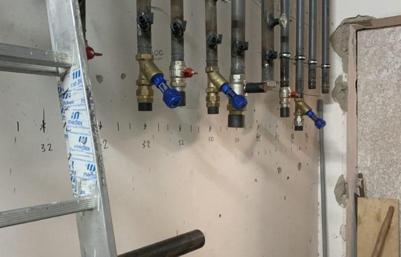 Монтаж отопления в производственном помещении компании «MedLex»