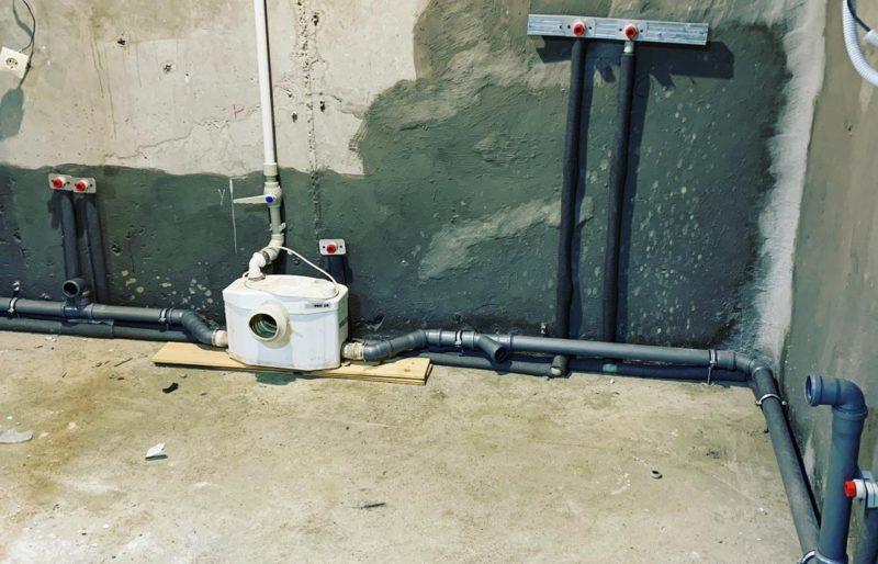 Монтаж отопления, водоснабжения и канализации в квартире