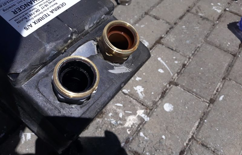 Ремонт теплоузла в здании Сочинского филиала ГБУЗ СПК