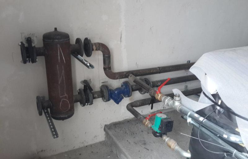 Монтаж котельной мощностью 700 кВт