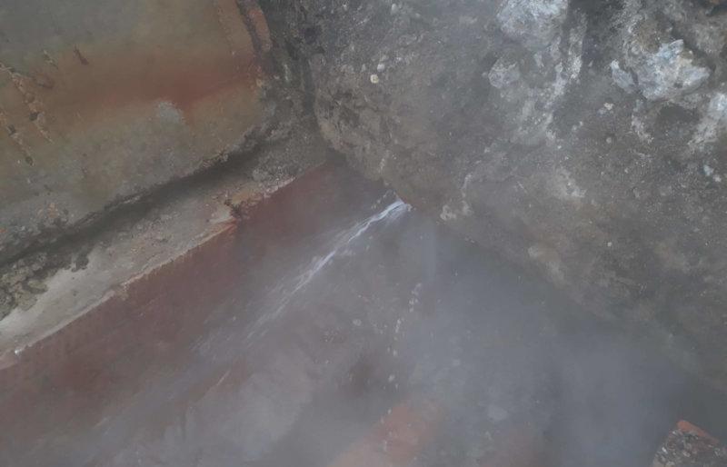 Замена участка теплотрассы на территории компании «MedLex»